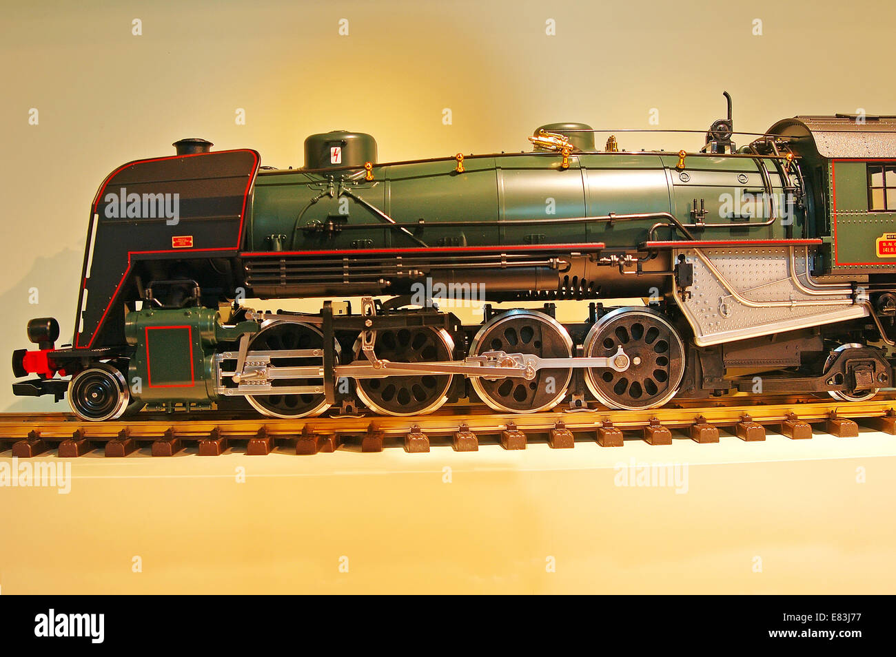 old Toy train - Stock Image