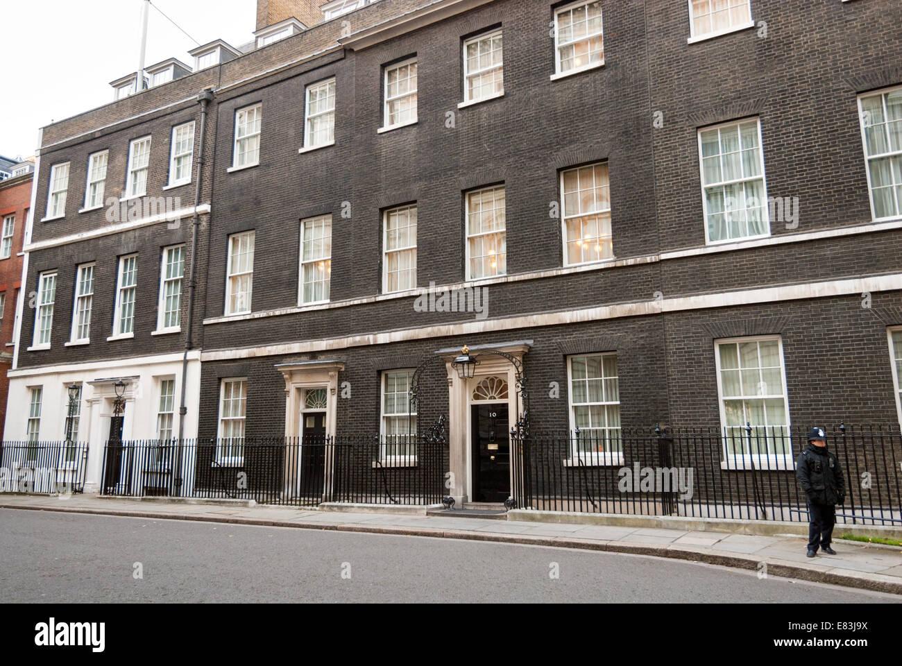 10 Downing Street London England UK - Stock Image