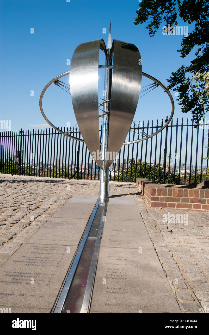 the prime meridian at the royal observatory in greenwich london stock photo 73839588 alamy. Black Bedroom Furniture Sets. Home Design Ideas