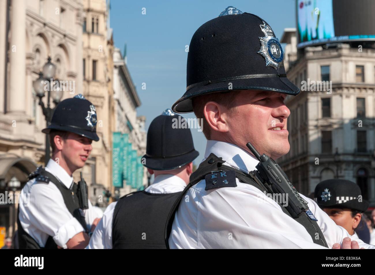 Metropolitan Police, London, England, UK - Stock Image