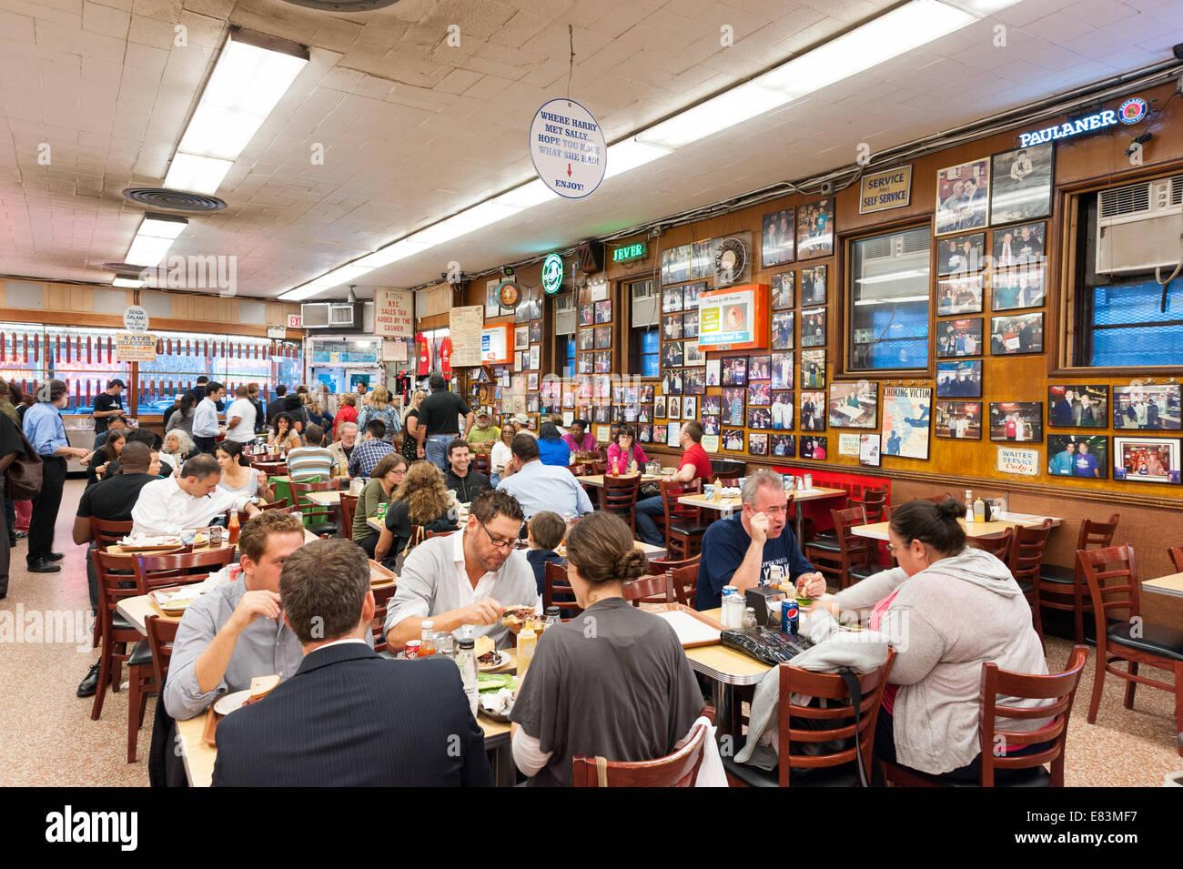 Katz's Deli, New York City, USA - Stock Image
