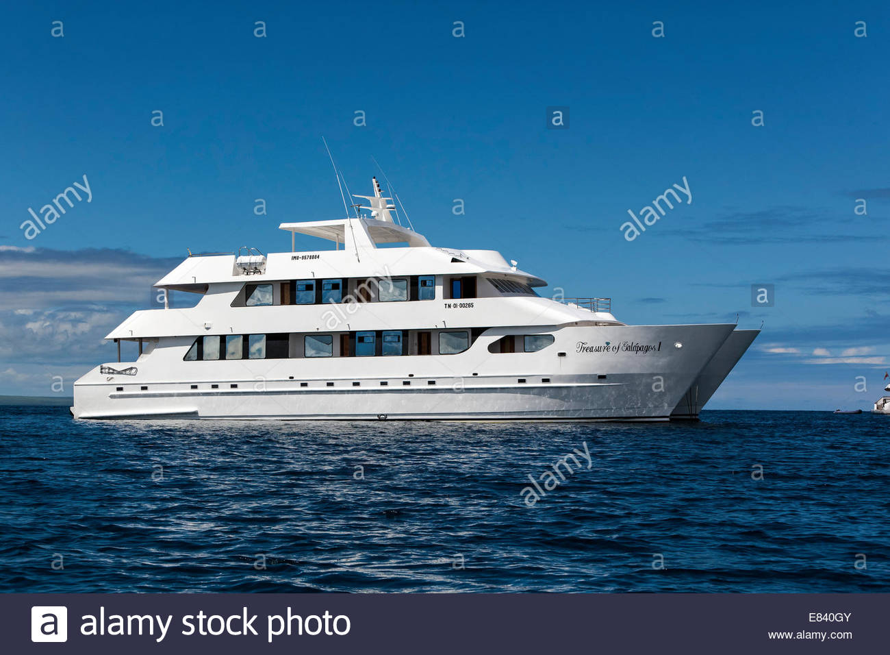 Catamaran, Galapagos Islands, Ecuador - Stock Image