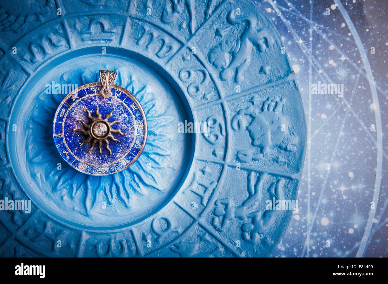 Horoscope Stars Prediction Symbols Stock Photos & Horoscope