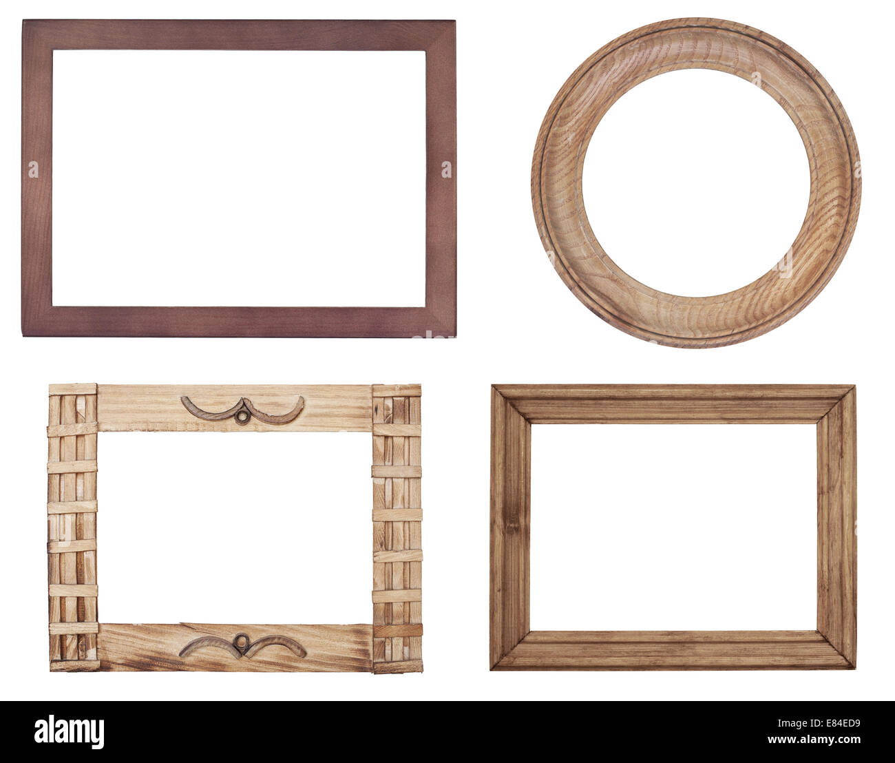 Old Wood Frames Stock Photos & Old Wood Frames Stock Images - Alamy