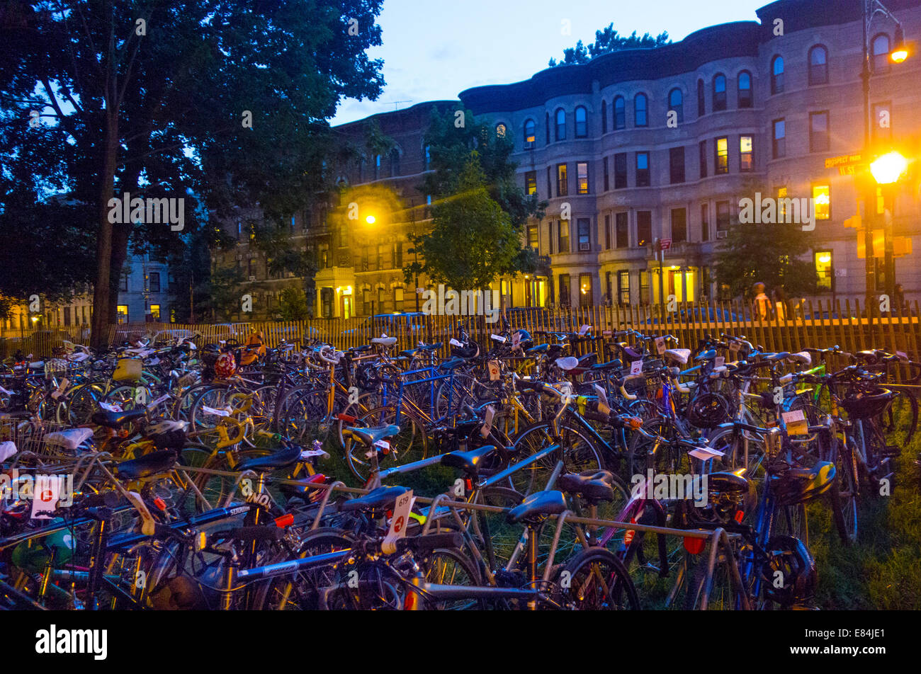 Celebrate Brooklyn New York concerts - Stock Image