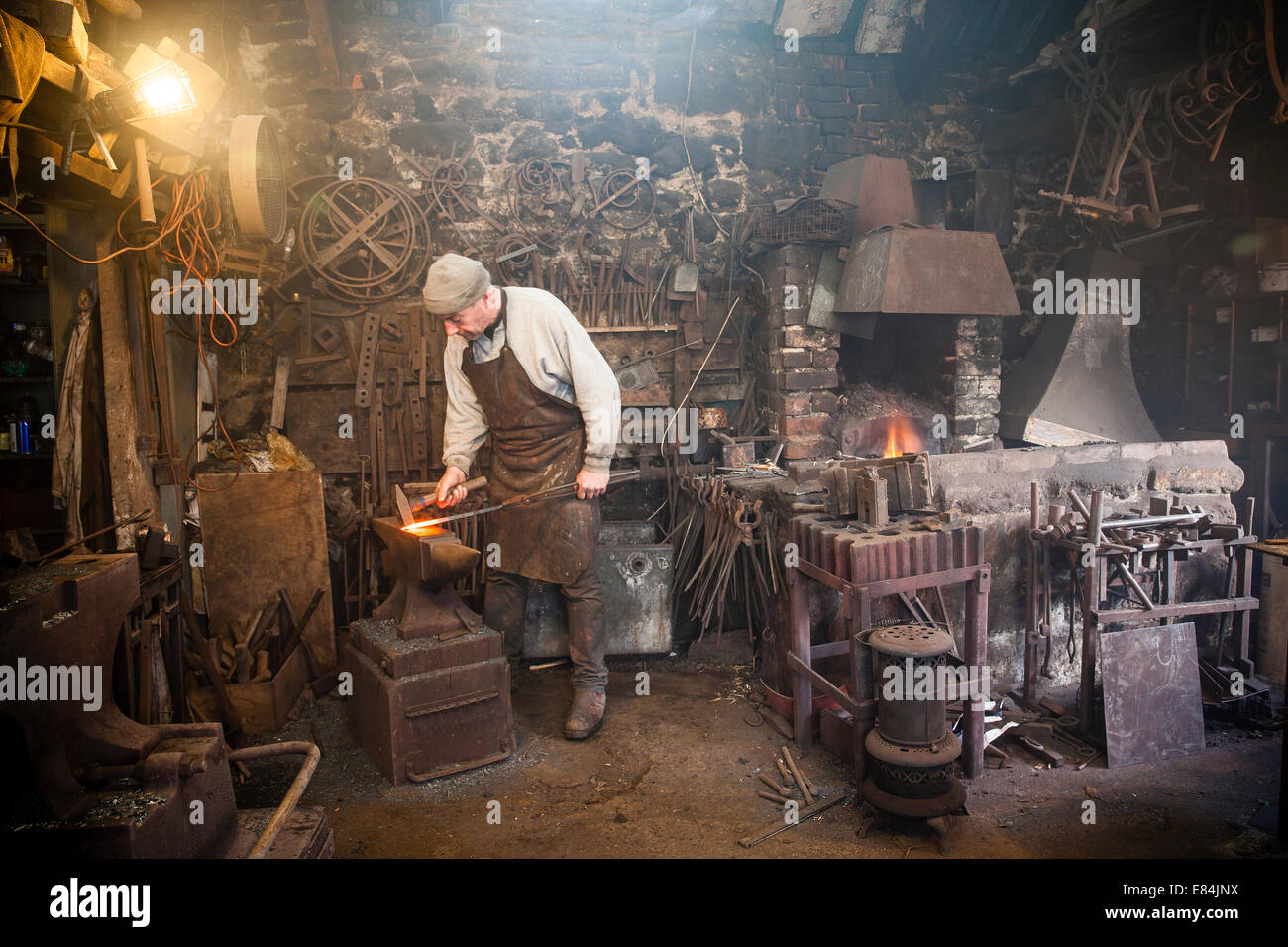 Blacksmith Forge Stock Photos & Blacksmith Forge Stock