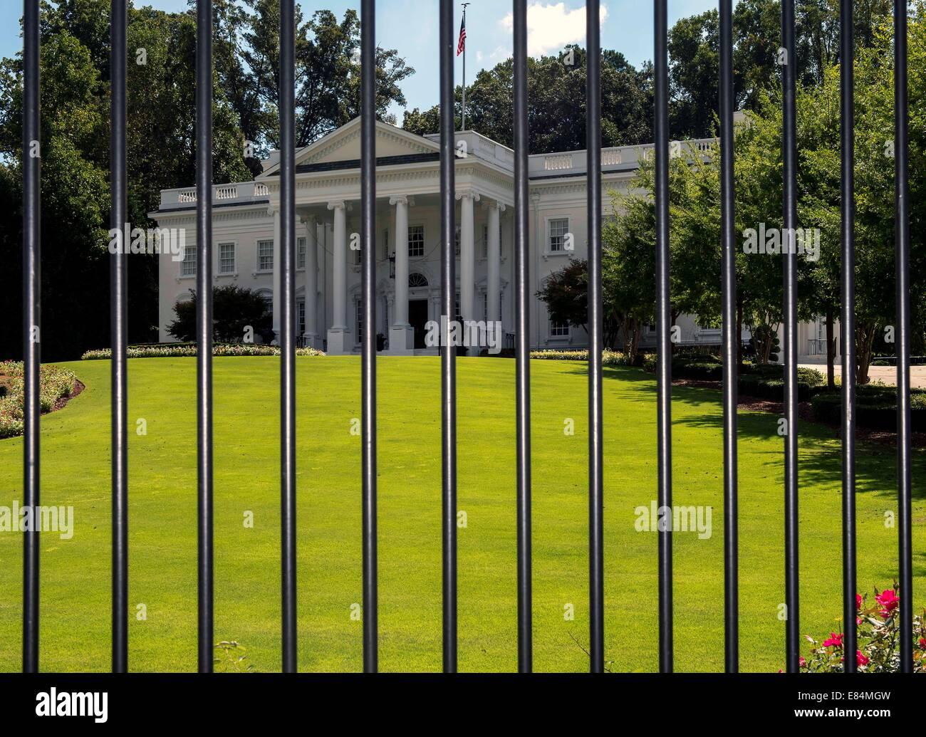 Atlanta Georgia Usa 30th Sep 2014 The Atlanta White House