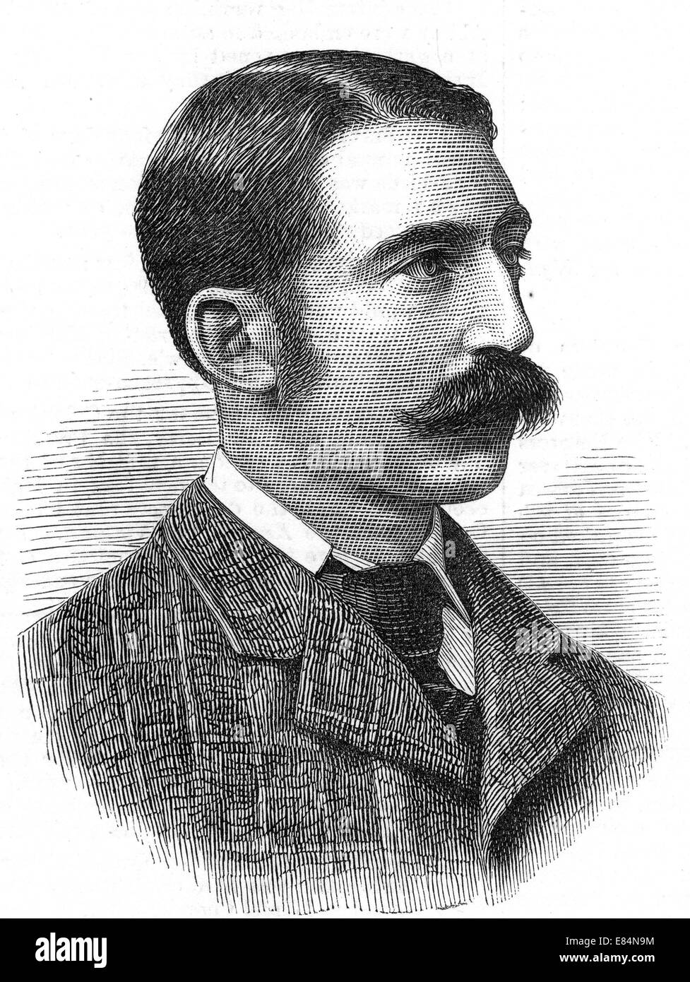 JOHN CHARD VC (1847-1897) British army officer awarded the VC for his command during the defence of Rorke's - Stock Image