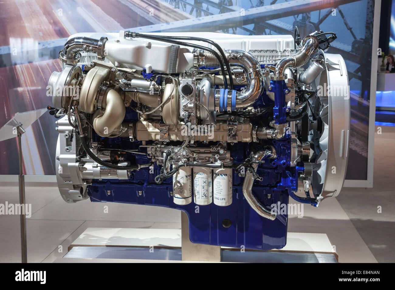 new volvo diesel engine d16 euro 6 at the 65th iaa. Black Bedroom Furniture Sets. Home Design Ideas