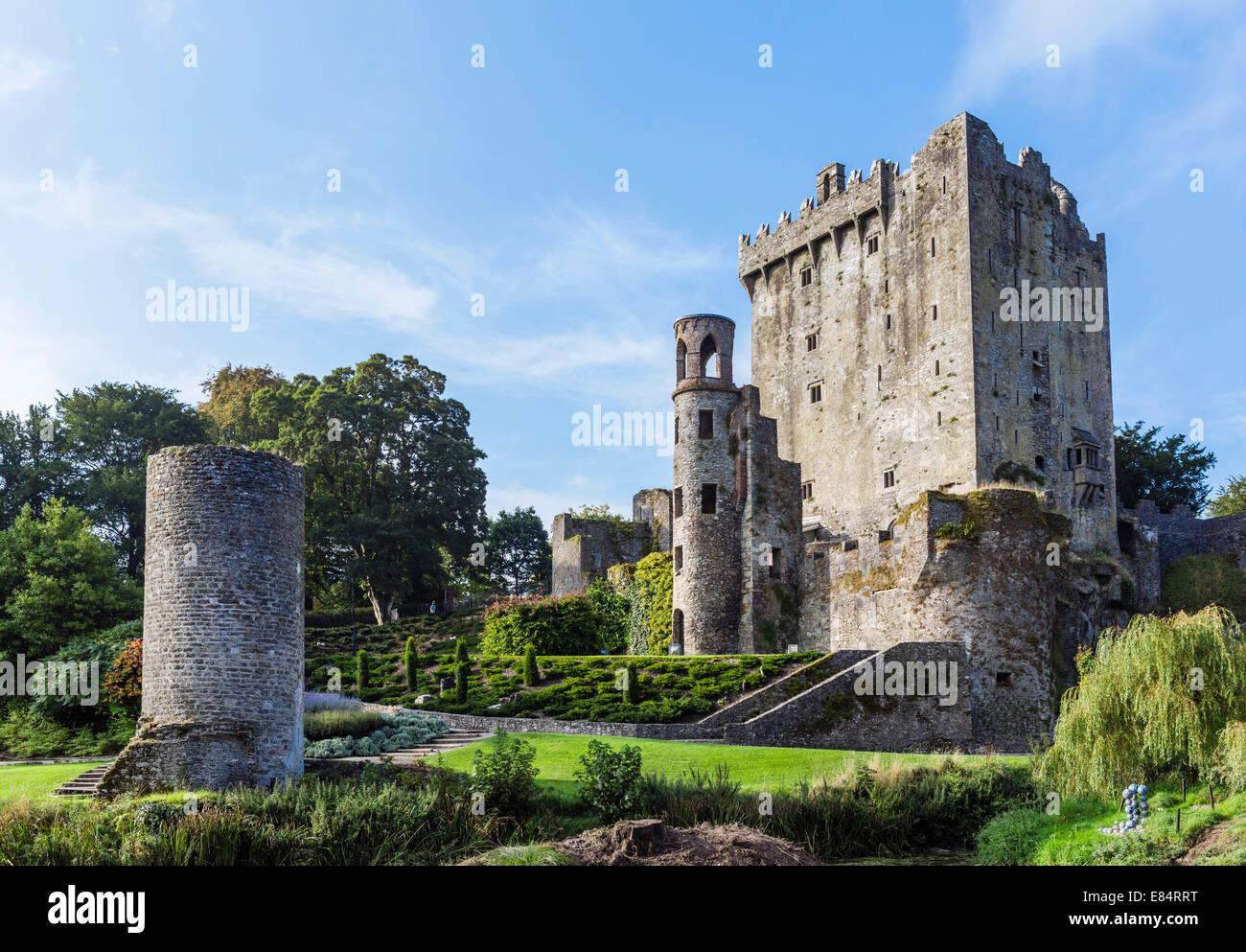 Blarney Castle, near Cork, County Cork, Republic of Ireland - Stock Image
