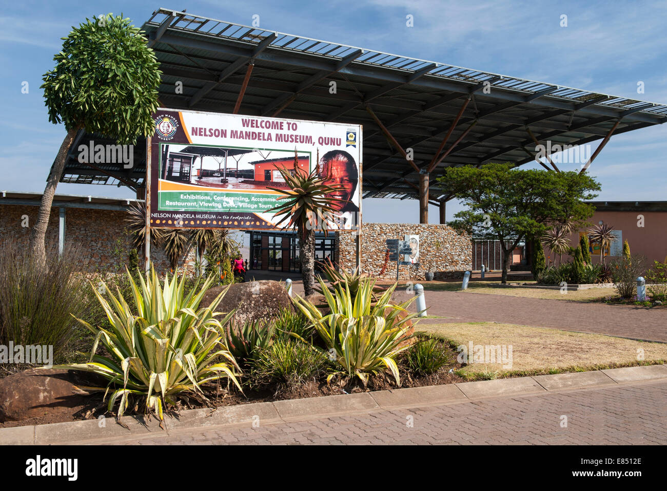 The Nelson Mandela Museum in Qunu, Eastern Cape Province, South Africa. - Stock Image