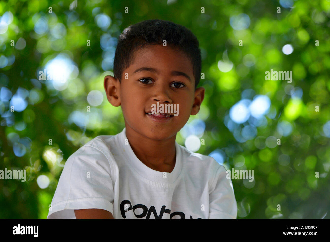 Young, Ponta da Serra, Crato, State of Ceará, Brazil Stock Photo