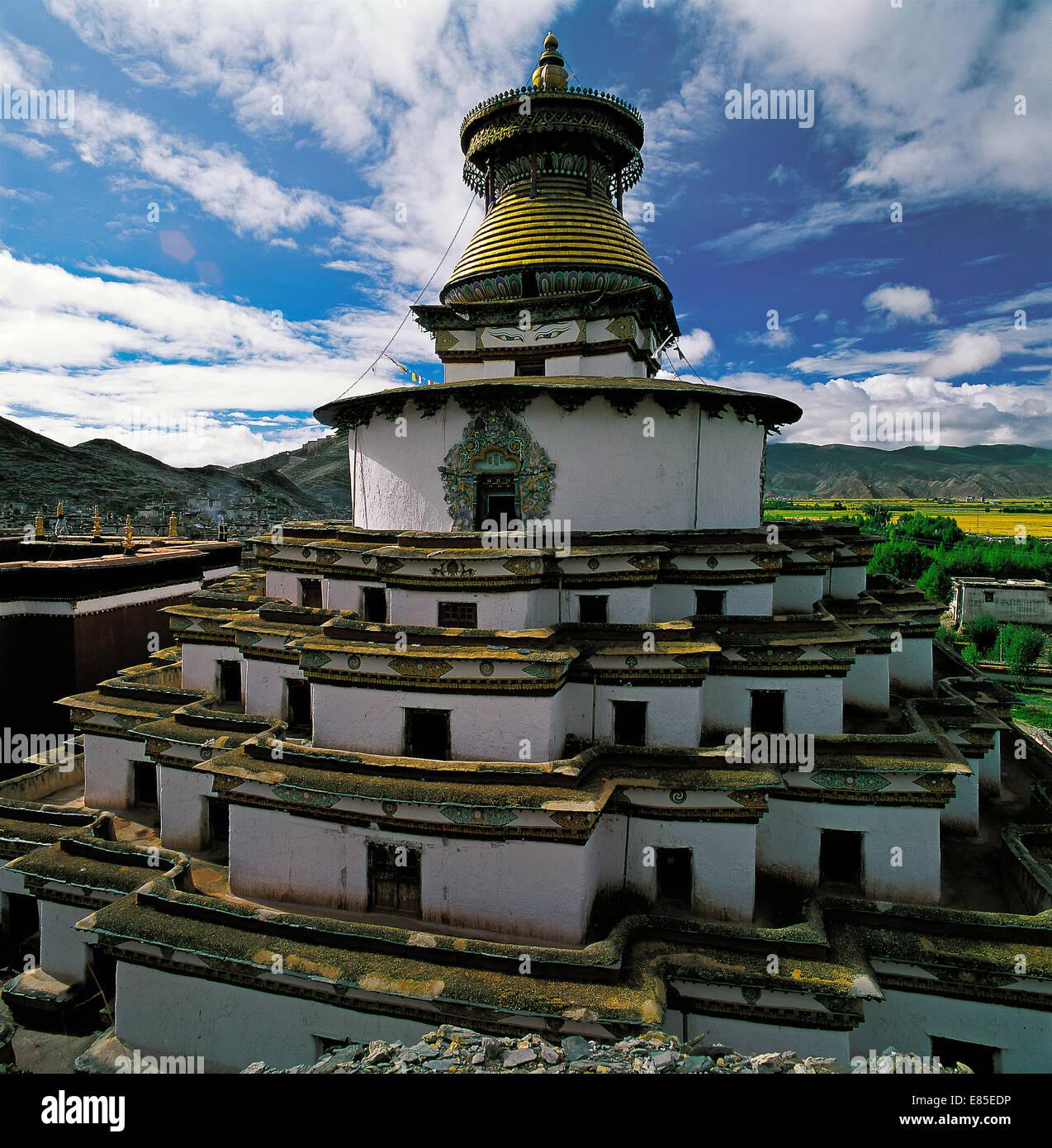 Tibet,China - Stock Image