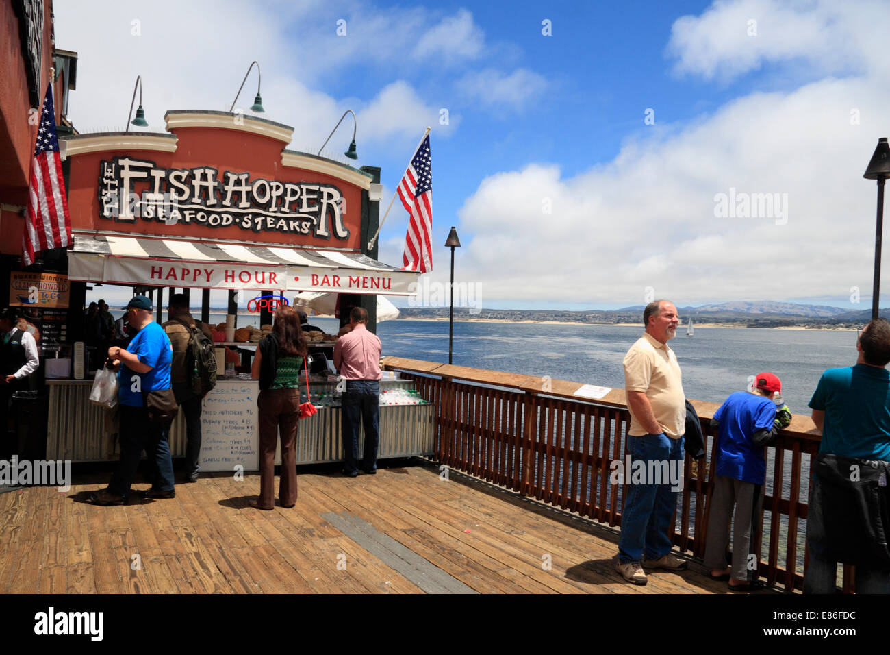 Monterey Fish Hopper Seafood Restaurant Cannery Row
