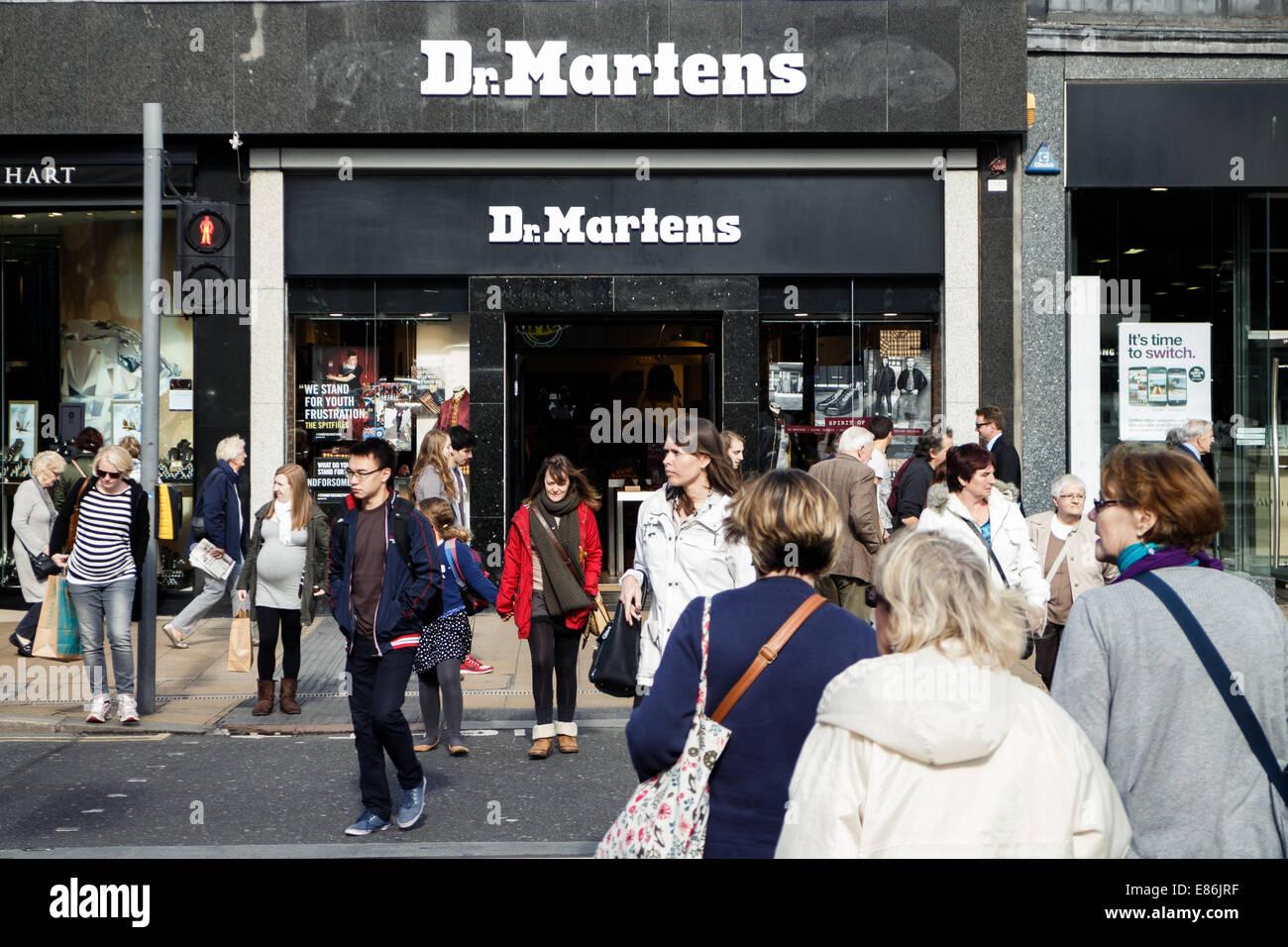 dr martens princess street