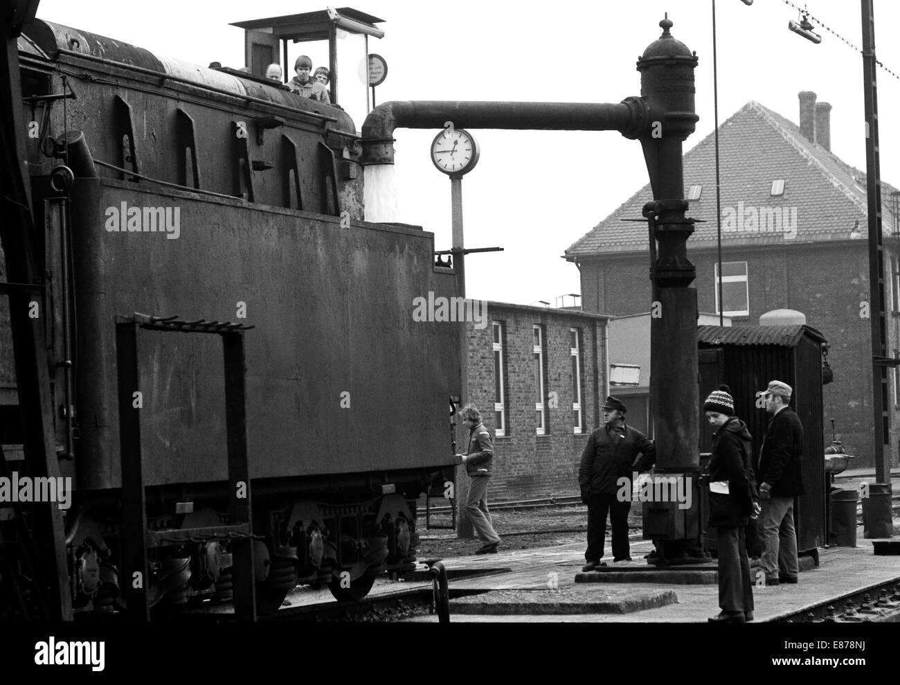 Rheine Germany The 043 321 In The Depot Rheine Stock Photo
