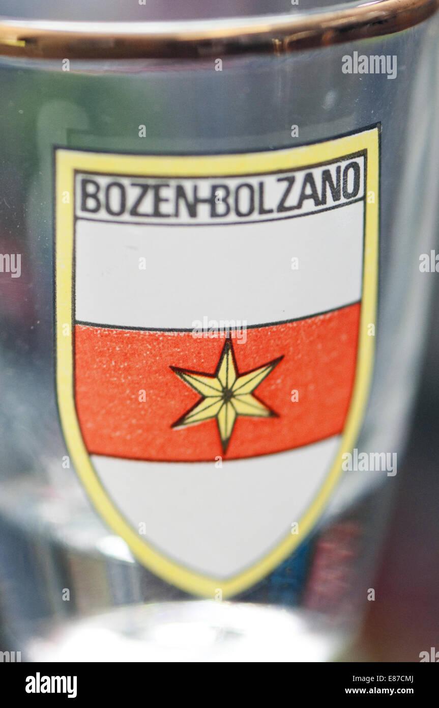 Italy, South Tyrol, Bolzano, Bozen, Souvenirs Shop - Stock Image