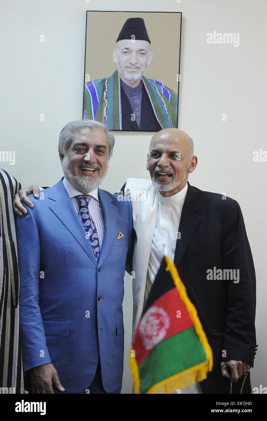 Kabul, Afghanistan  1st Oct, 2014  Afghan President Ashraf
