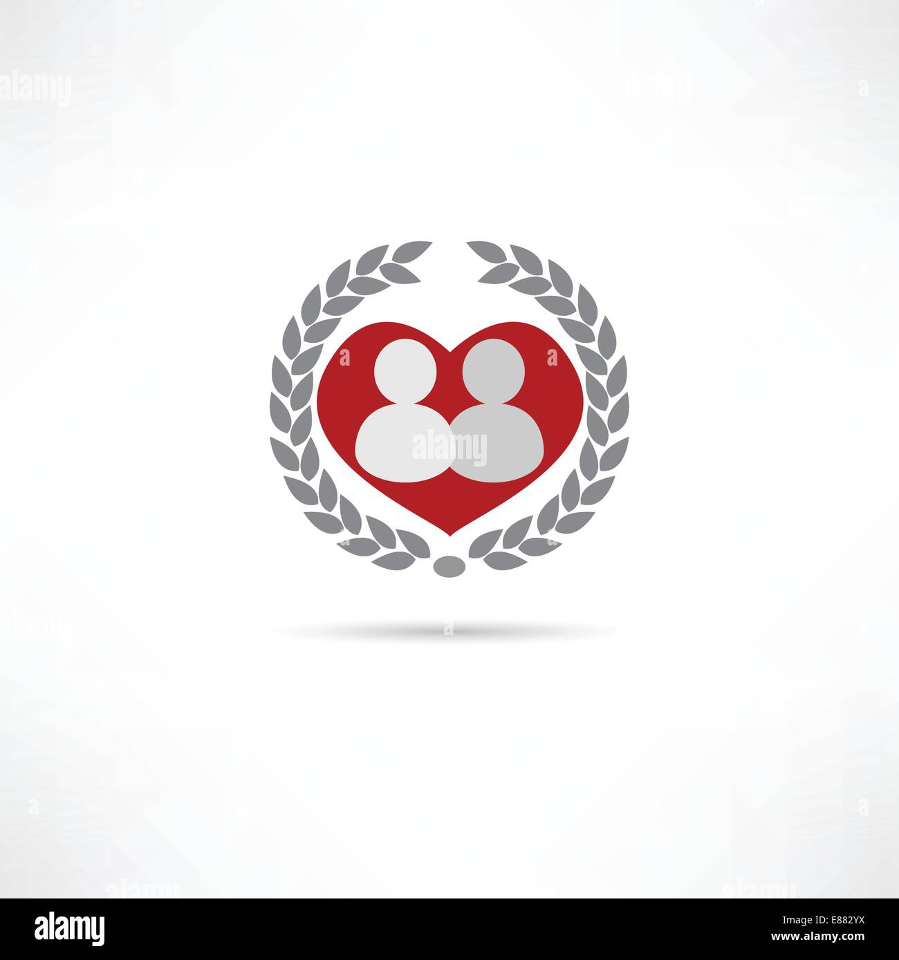 loved one icon - Stock Vector