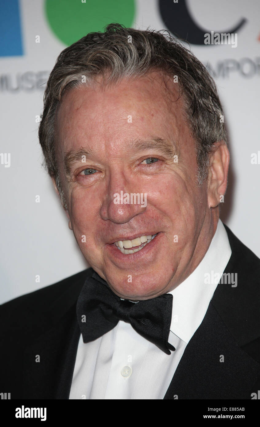 MOCA 35th Anniversary Gala Celebration At The Geffen Contemporary at MOCA  Featuring: Tim Allen Where: Los Angeles, - Stock Image