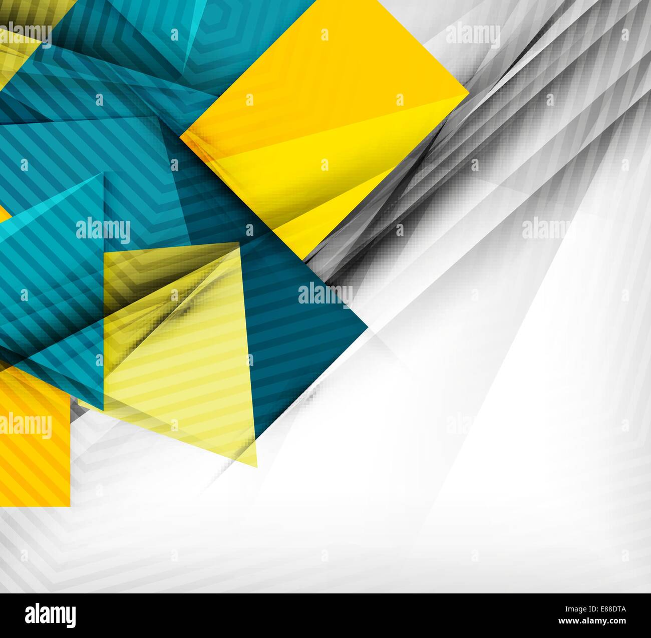 Geometrical vector abstract background. For infographics, business ...