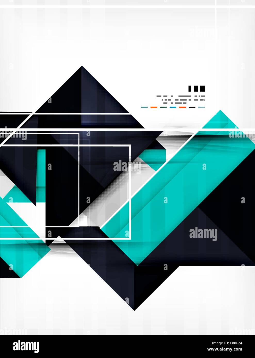 futuristic geometric shape abstract business template for banners