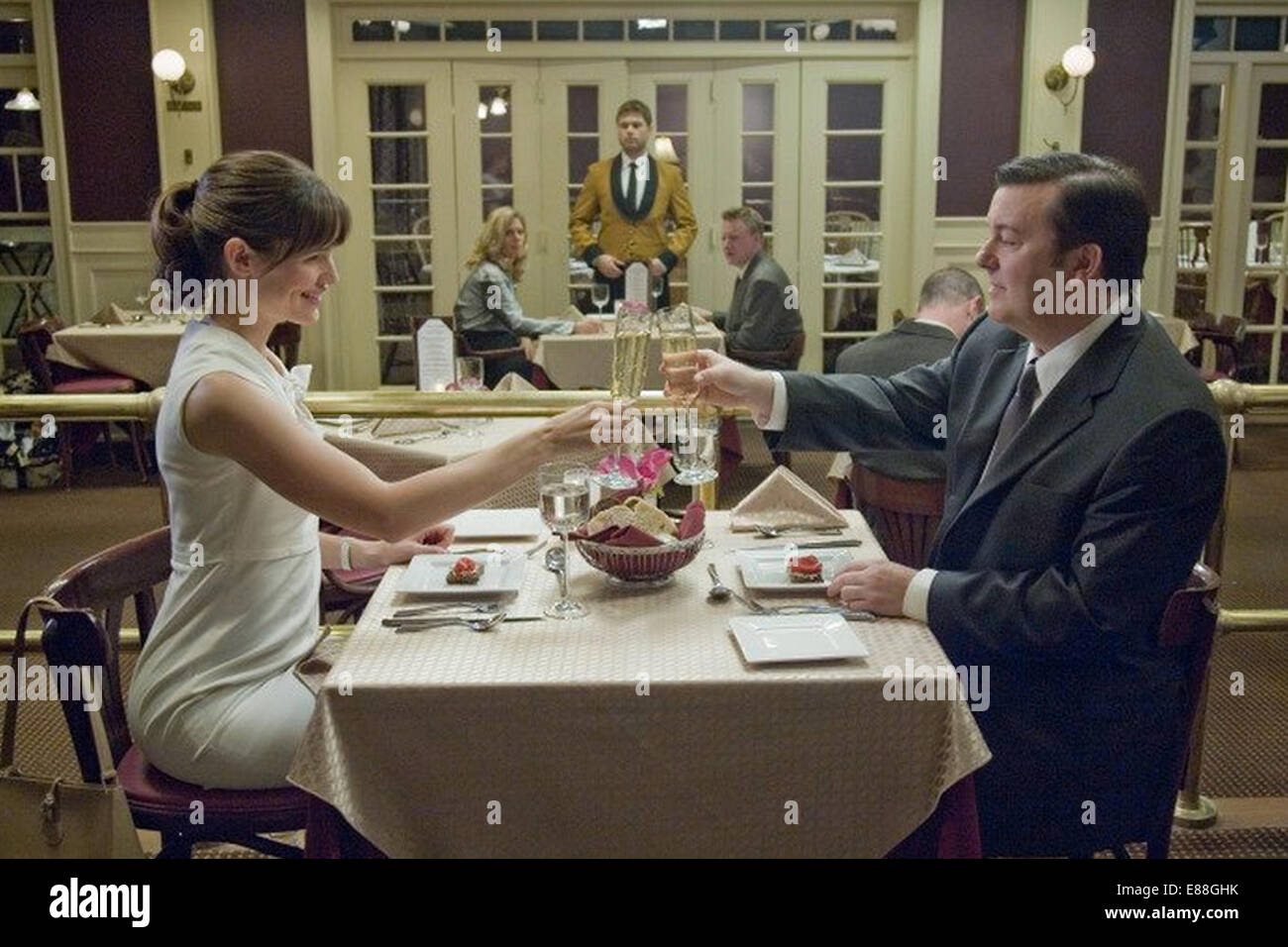 THE INVENTION OF LYING 2009 film with Jennifer Garner and Ricky Gervais - Stock Image