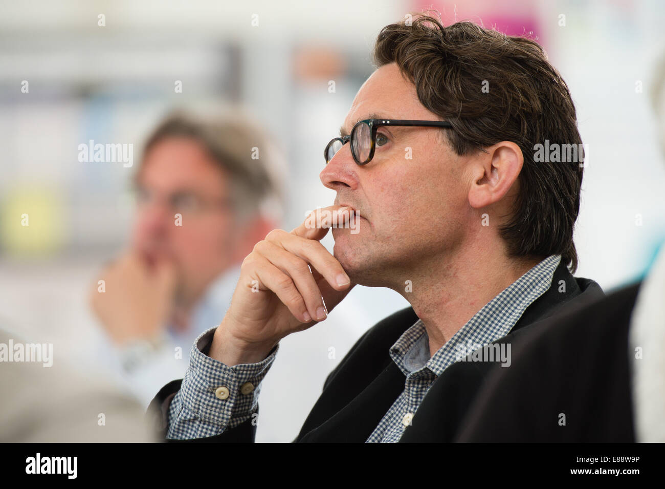 Ian Rees Jones, Director, WISERD  (The Wales Institute of Social and Economic Research, Data & Methods) at their - Stock Image