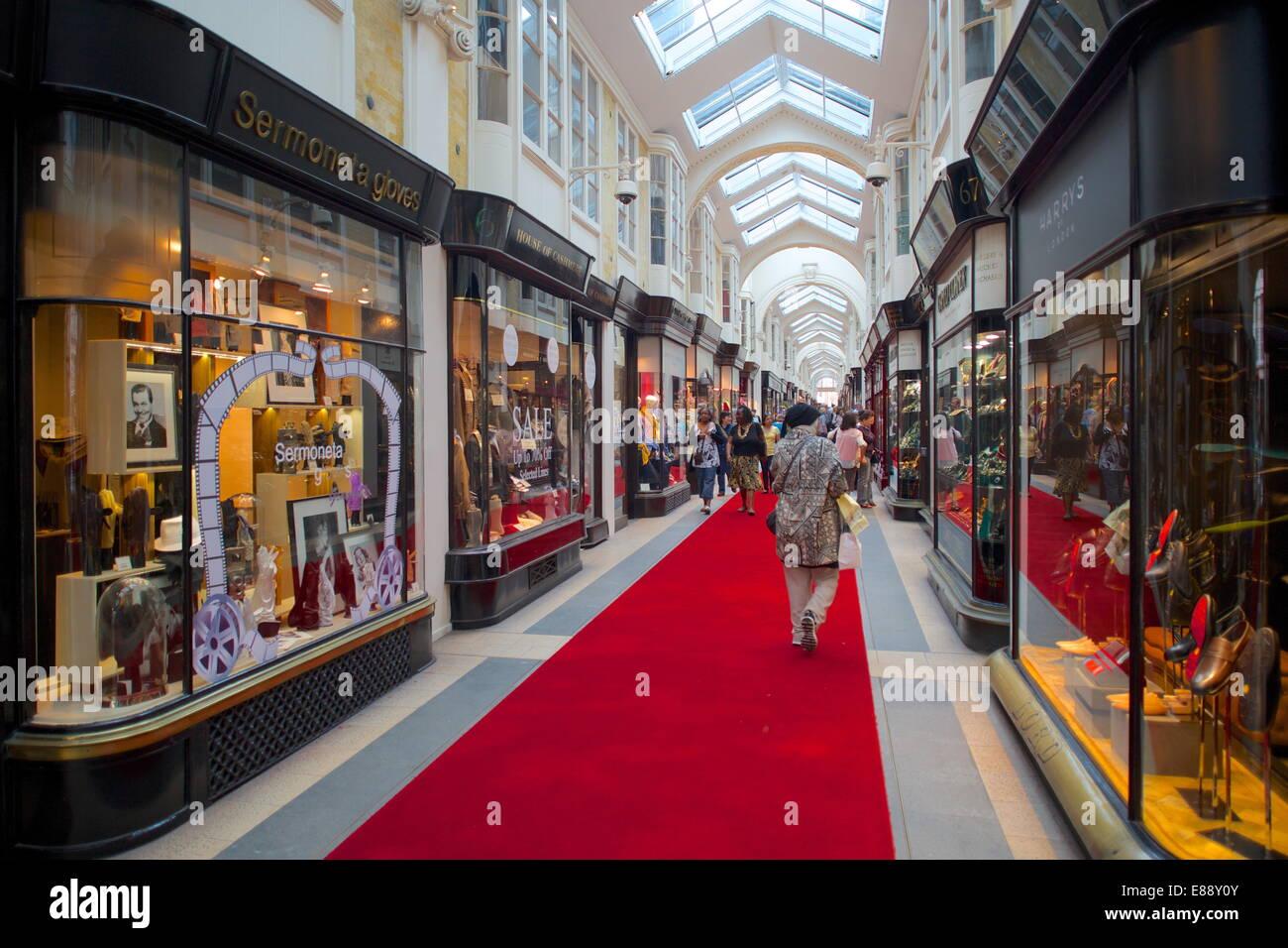 Burlington Arcade, London, England, United Kingdom, Europe - Stock Image