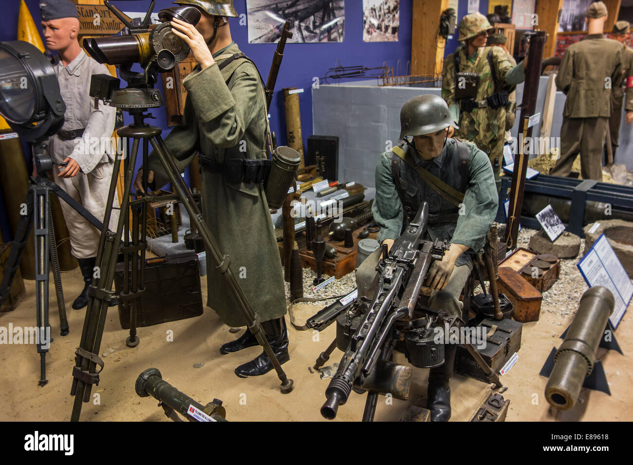 Weapons Of Ww2 German Army Stock Photos & Weapons Of Ww2 German Army