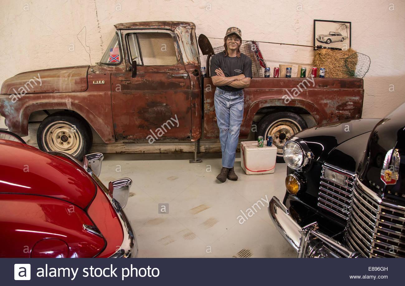 Sarasota Classic Car Museum,Florida.USA ©William Stevens - Stock Image