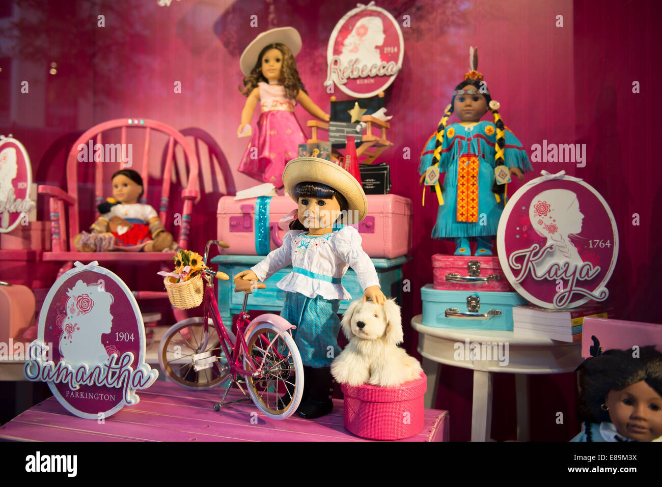 Dolls, American Girl Dolls I Shop Window, American Girl-9597