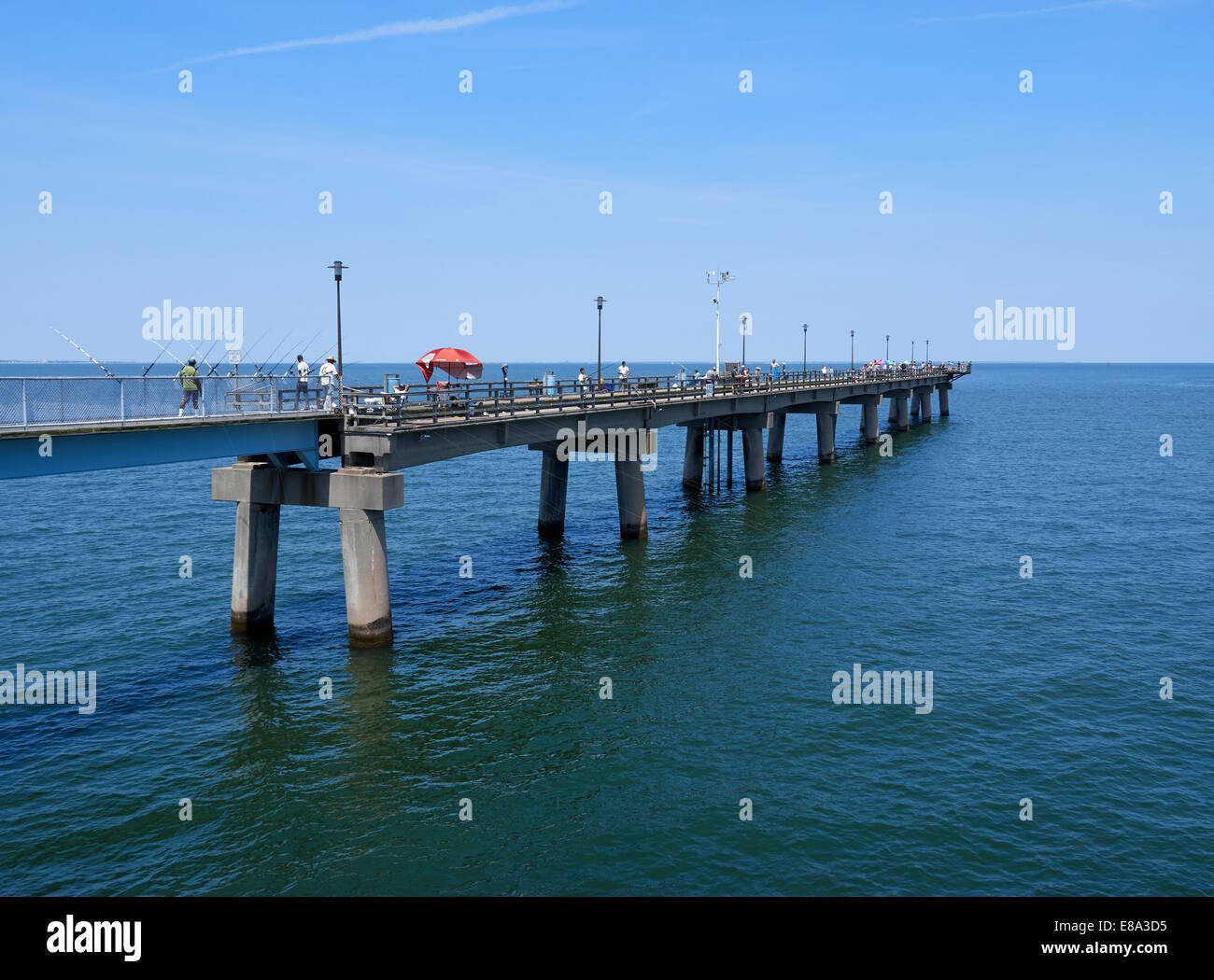 Pictures of the chesapeake bay bridge tunnel the best for Chesapeake bay fishing