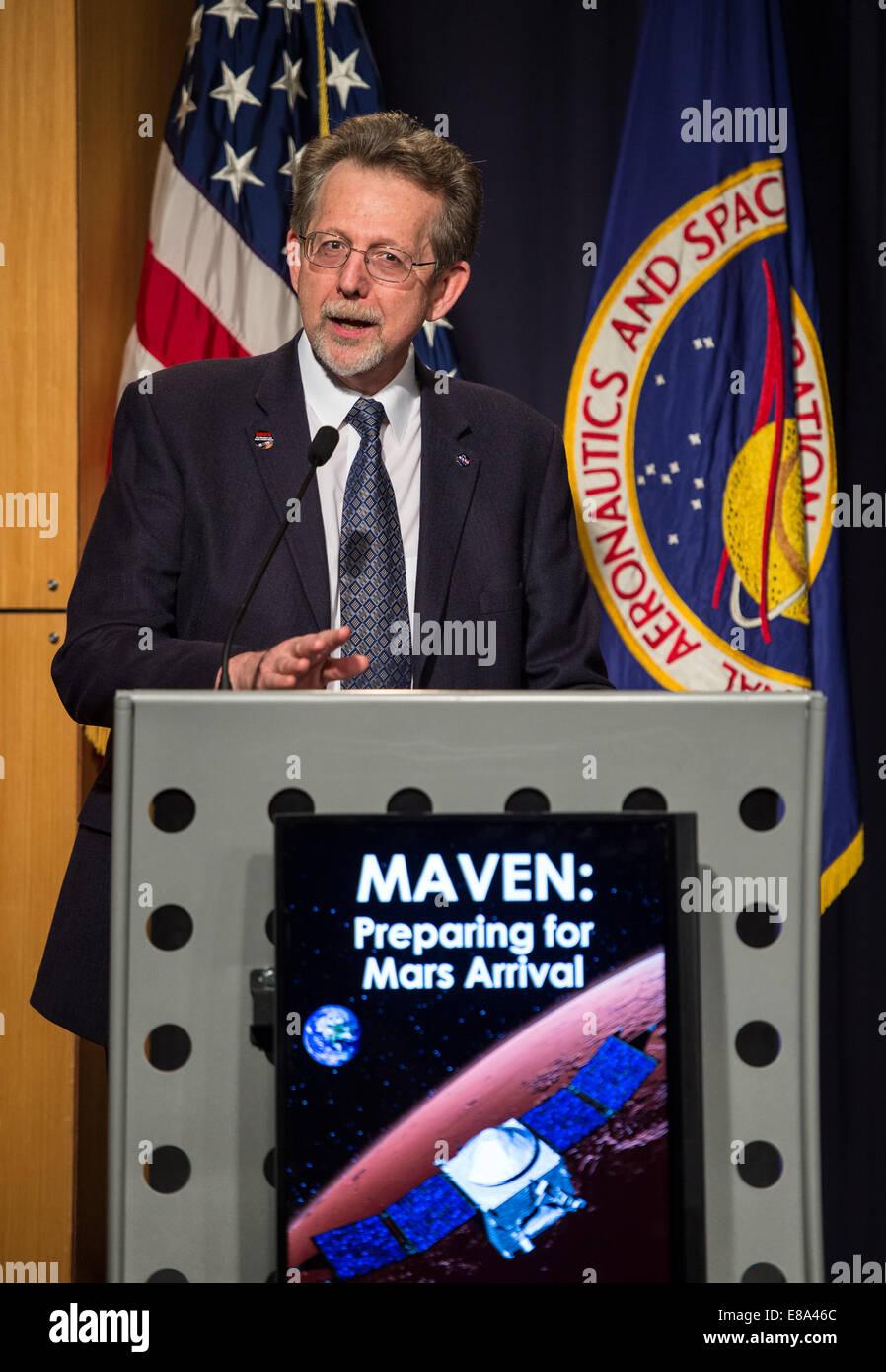 Dr. Jim Green, NASA's Planetary Science Division Director ...
