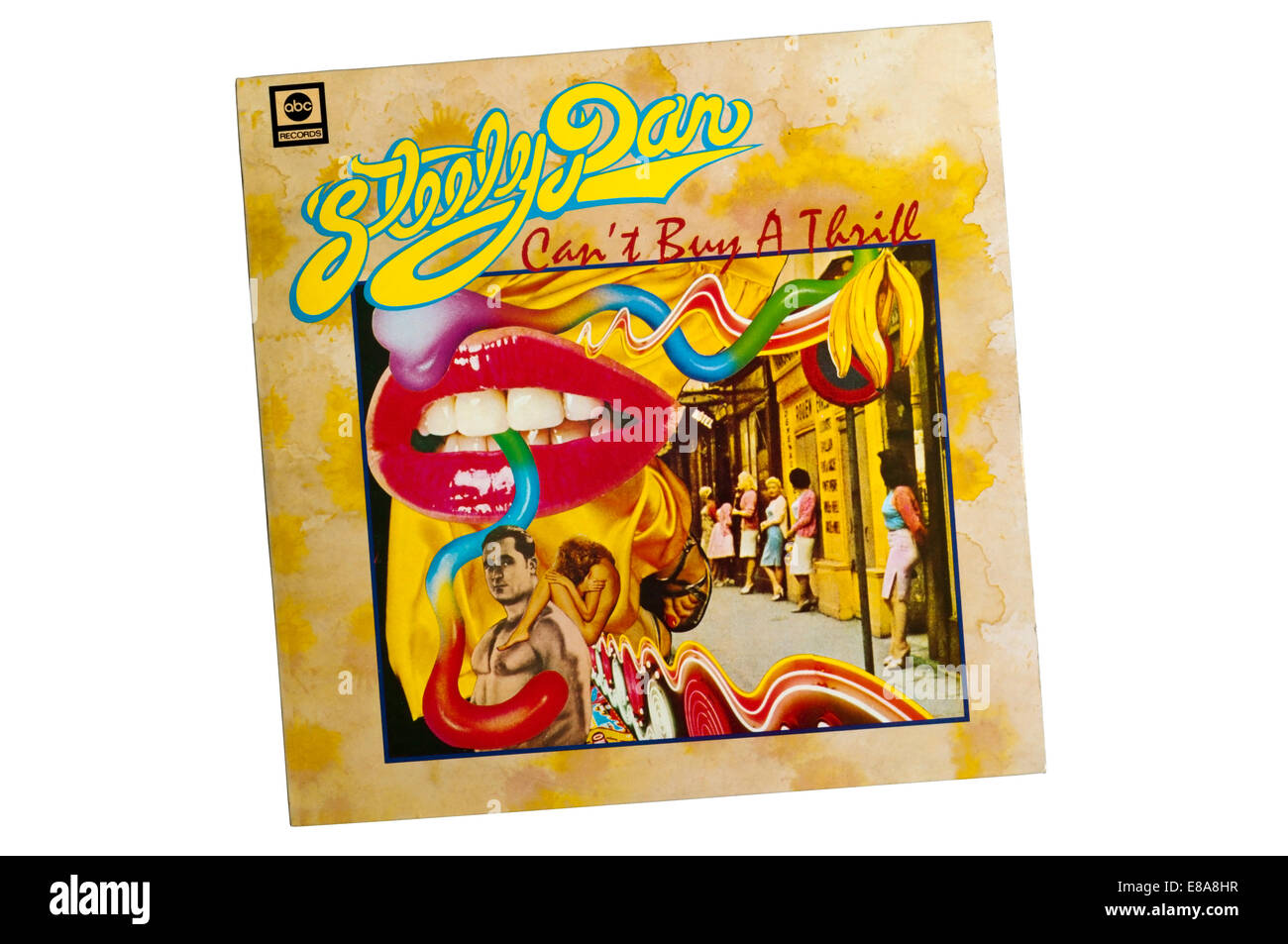 Can't Buy a Thrill was the debut album by American rock band Steely Dan, released in 1972 by ABC Records. - Stock Image