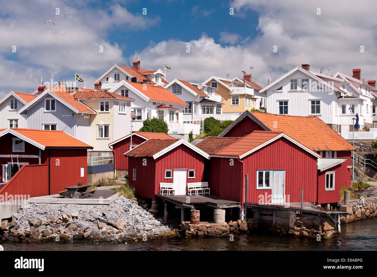 Haellevikstrand, Sweden Stock Photo