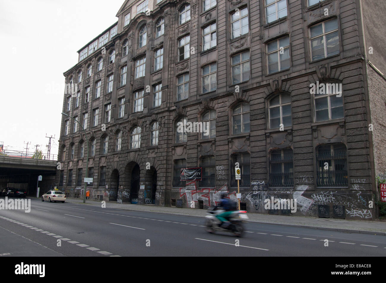 unoccupied House Building Berlin Germany - Stock Image