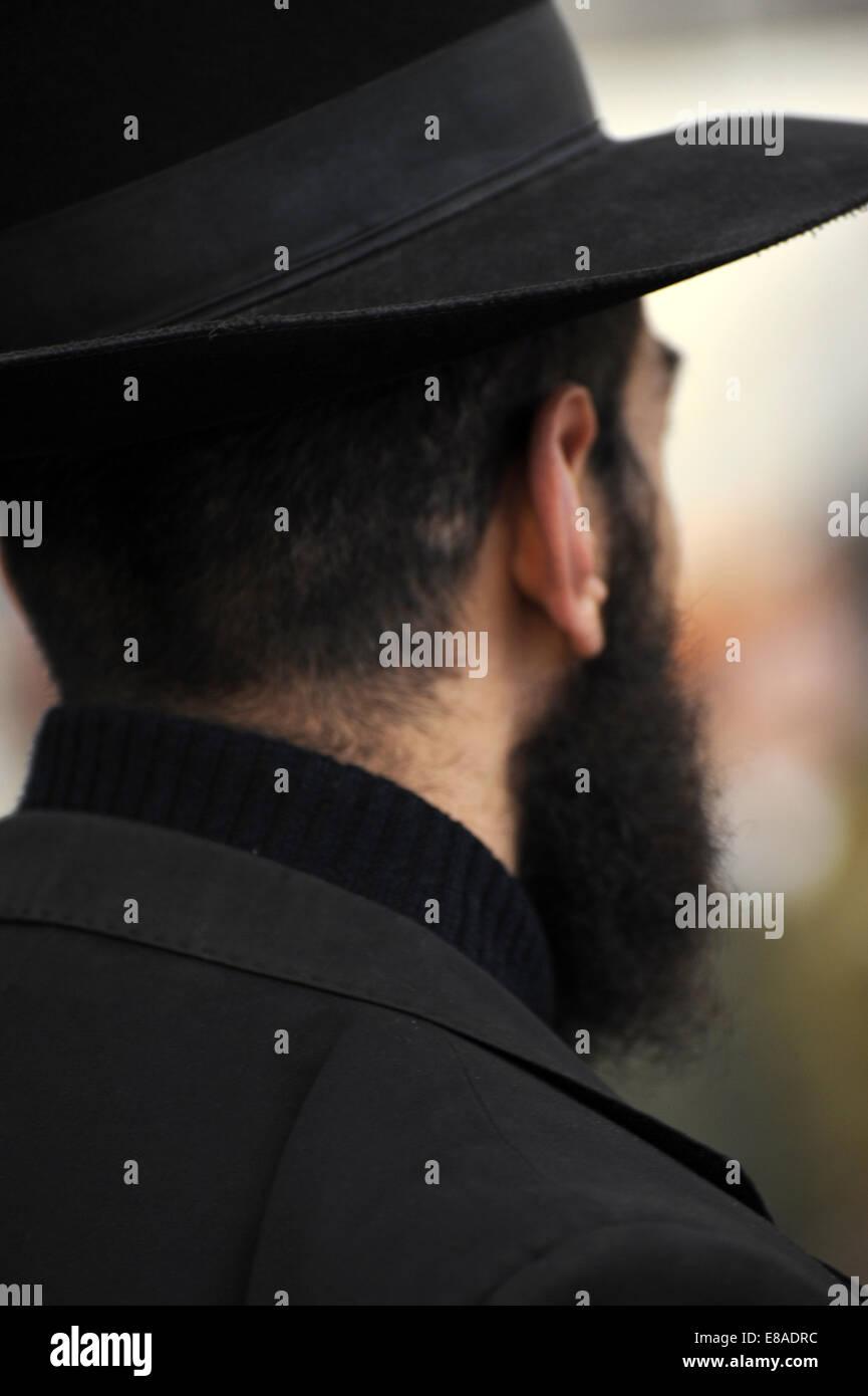 A Jew. Jerusalem. Israel. - Stock Image