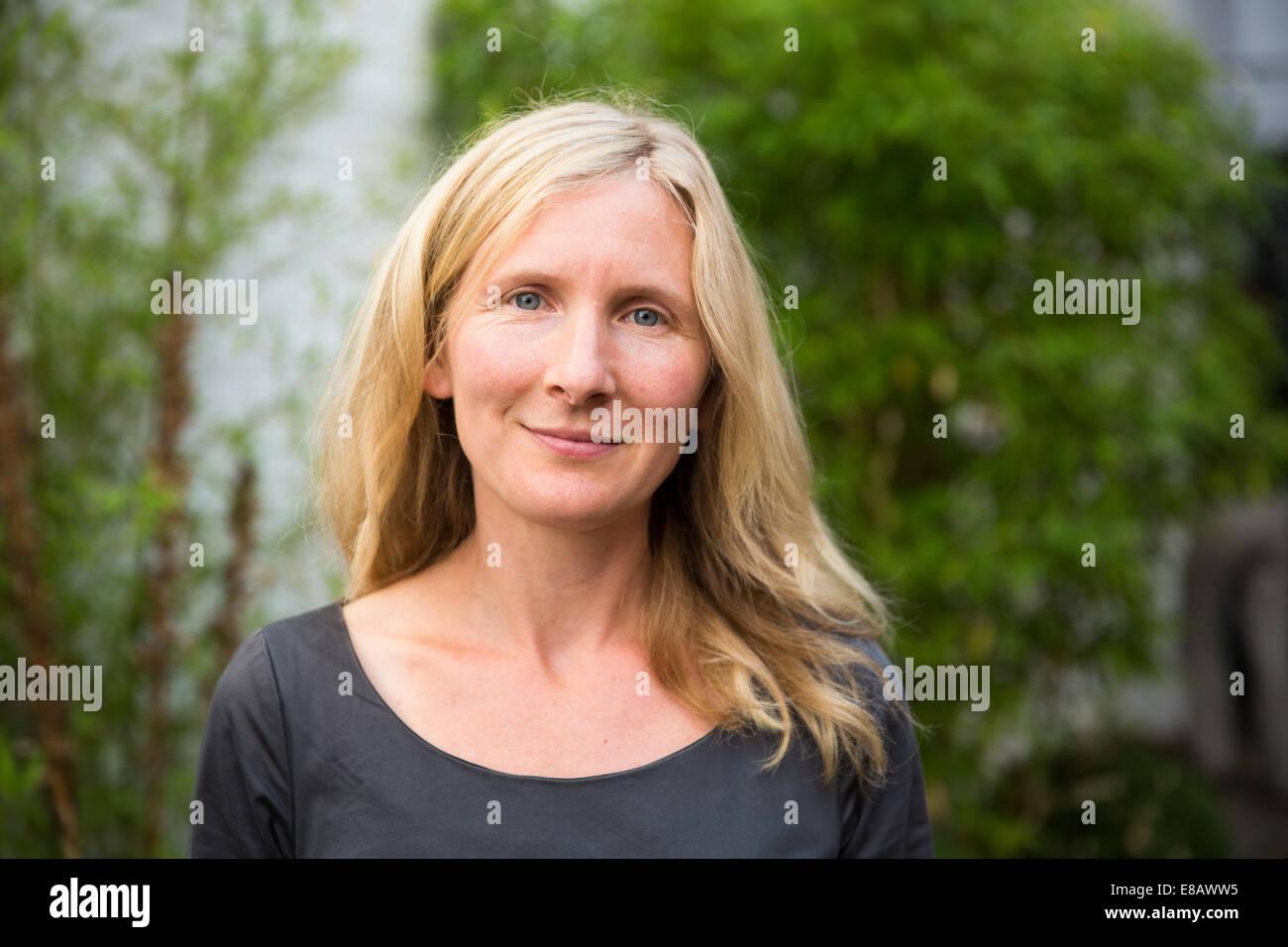 Samantha Harvey is an English author - Stock Image