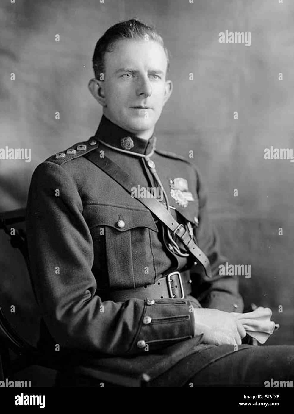 EOIN O'DUFFY (1892-1944) Irish political activist as Garda Siochana  police commissioner about 1923 Stock Photo