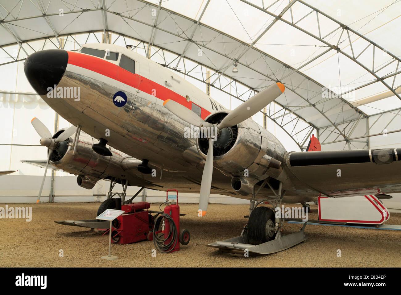 Aerospace Museum, Calgary, Alberta, Canada - Stock Image
