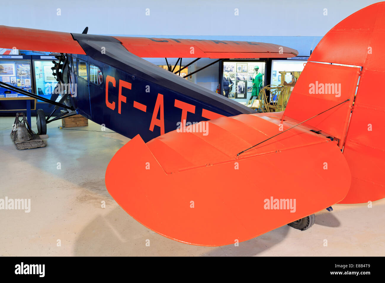 Alberta Aviation Museum, Edmonton, Alberta, Canada - Stock Image