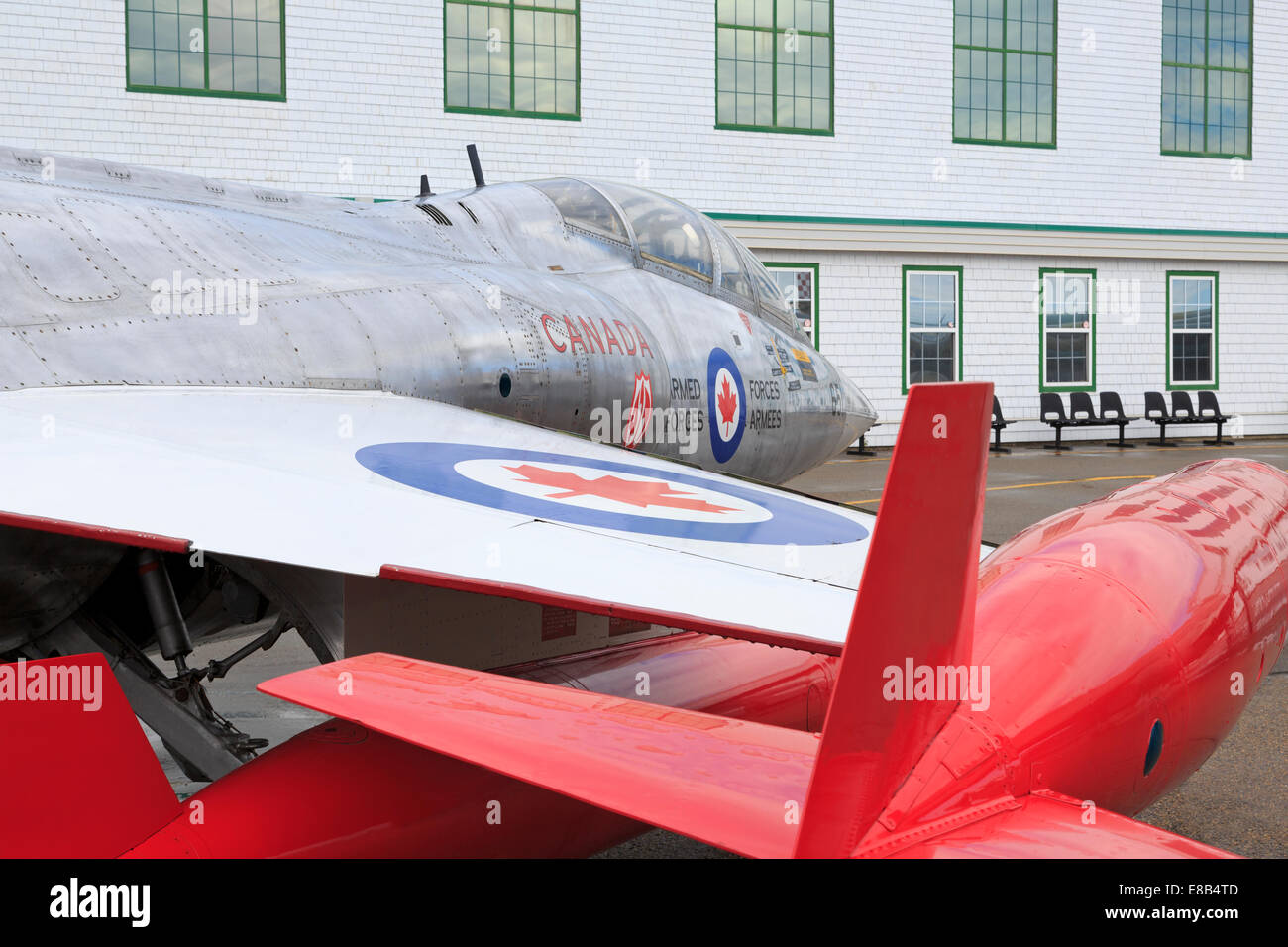 Starfighter, Alberta Aviation Museum, Edmonton, Alberta, Canada - Stock Image