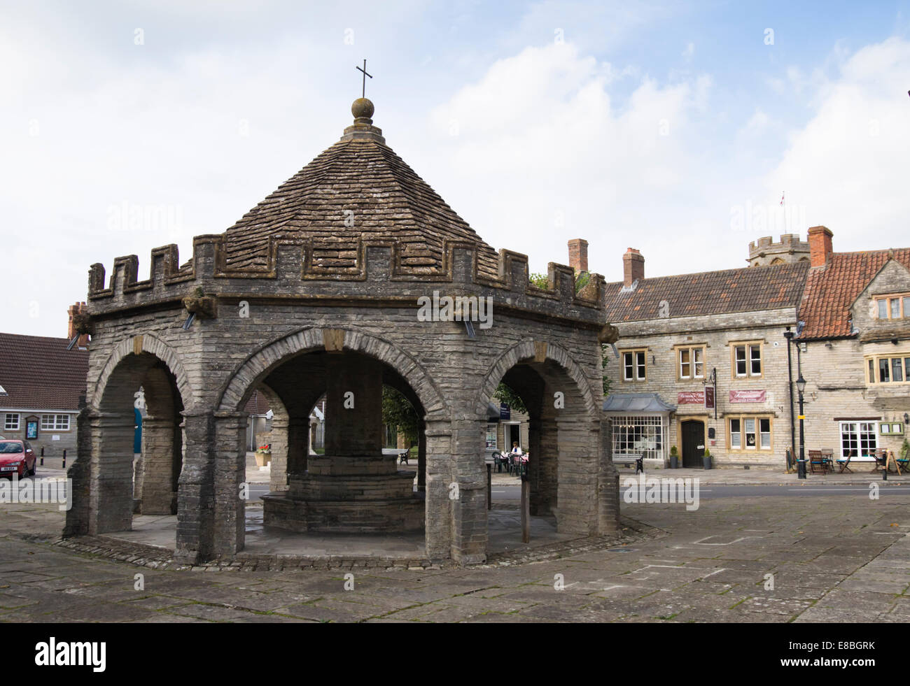 Somerton a small town in somerset England UK - Stock Image