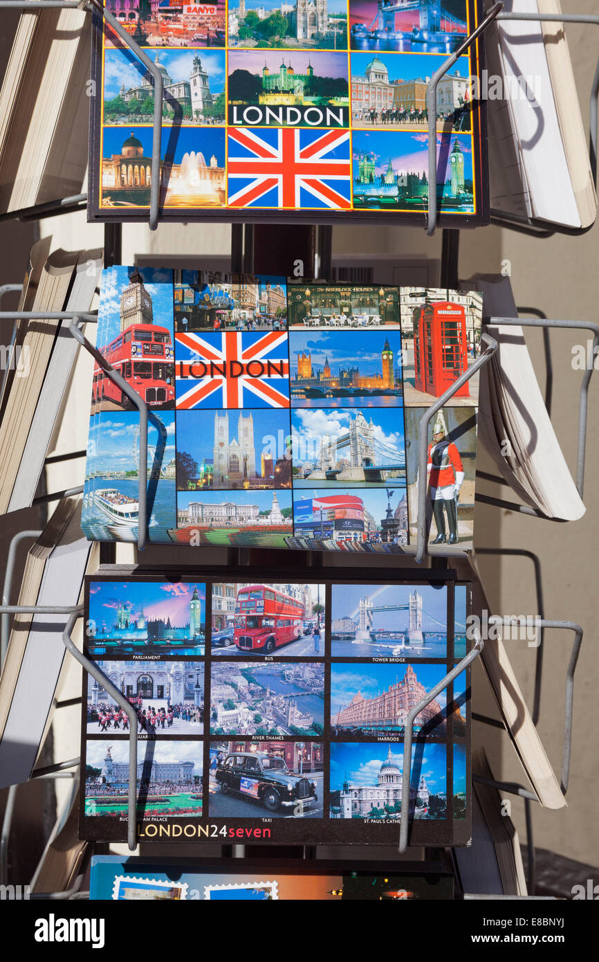 London, The Strand    London postcards for sale - Stock Image