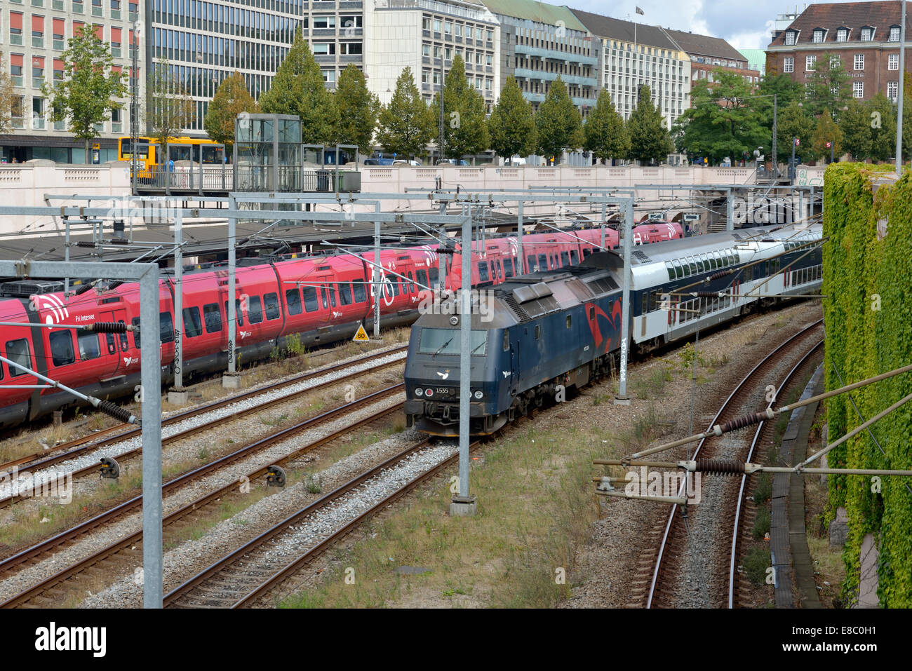 Metro Trains, Copenhagen, Denmark 140818 62365 Stock Photo