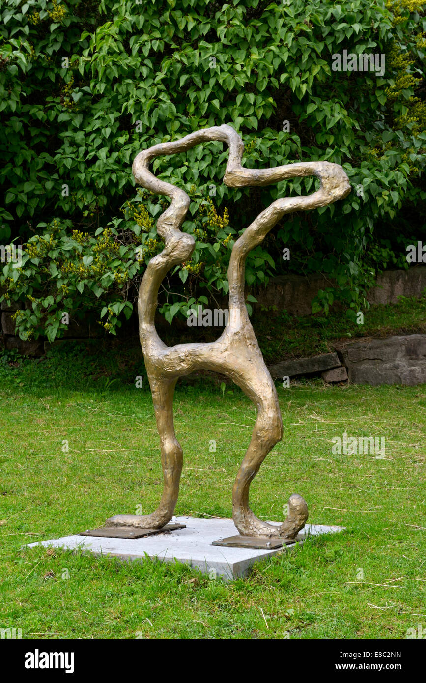 Stickman, Akershus Fortress Sculpture Trail, Oslo, Norway 140819 62417 Stock Photo