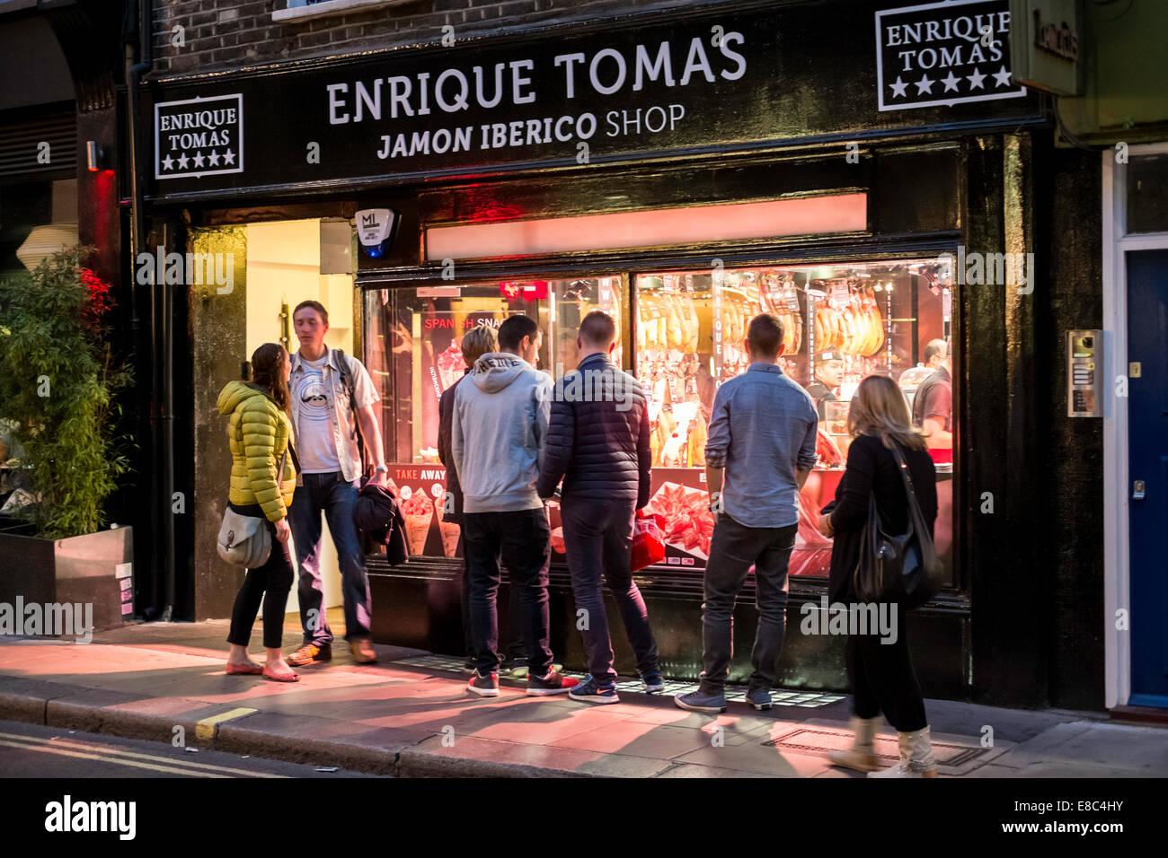Wardour Street, Soho, London, United Kingdom - Stock Image