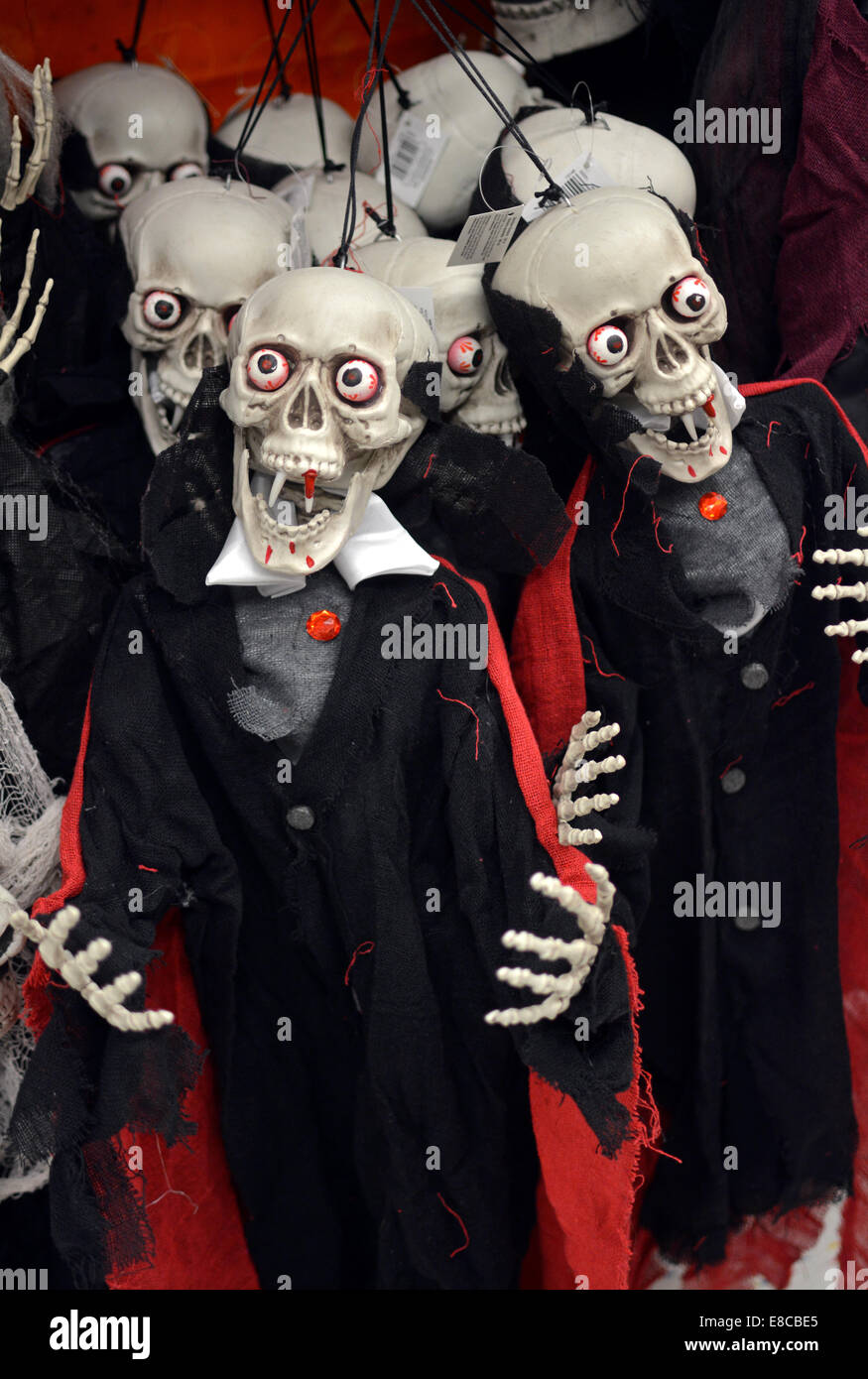 Superb Display Of Halloween Decorations For Sale At The Party City ...