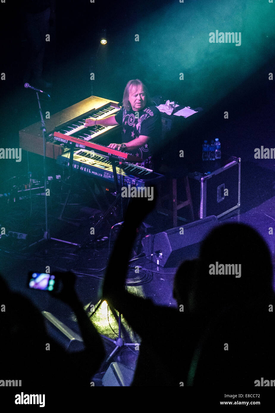 """Poland. 3rd Oct, 2014. """"Budka Suflera"""" is a Polish rock band which was started in 1969 in Lublin by Krzysztof Cugowski Stock Photo"""